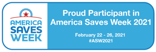 America Saves Week Partner Badge