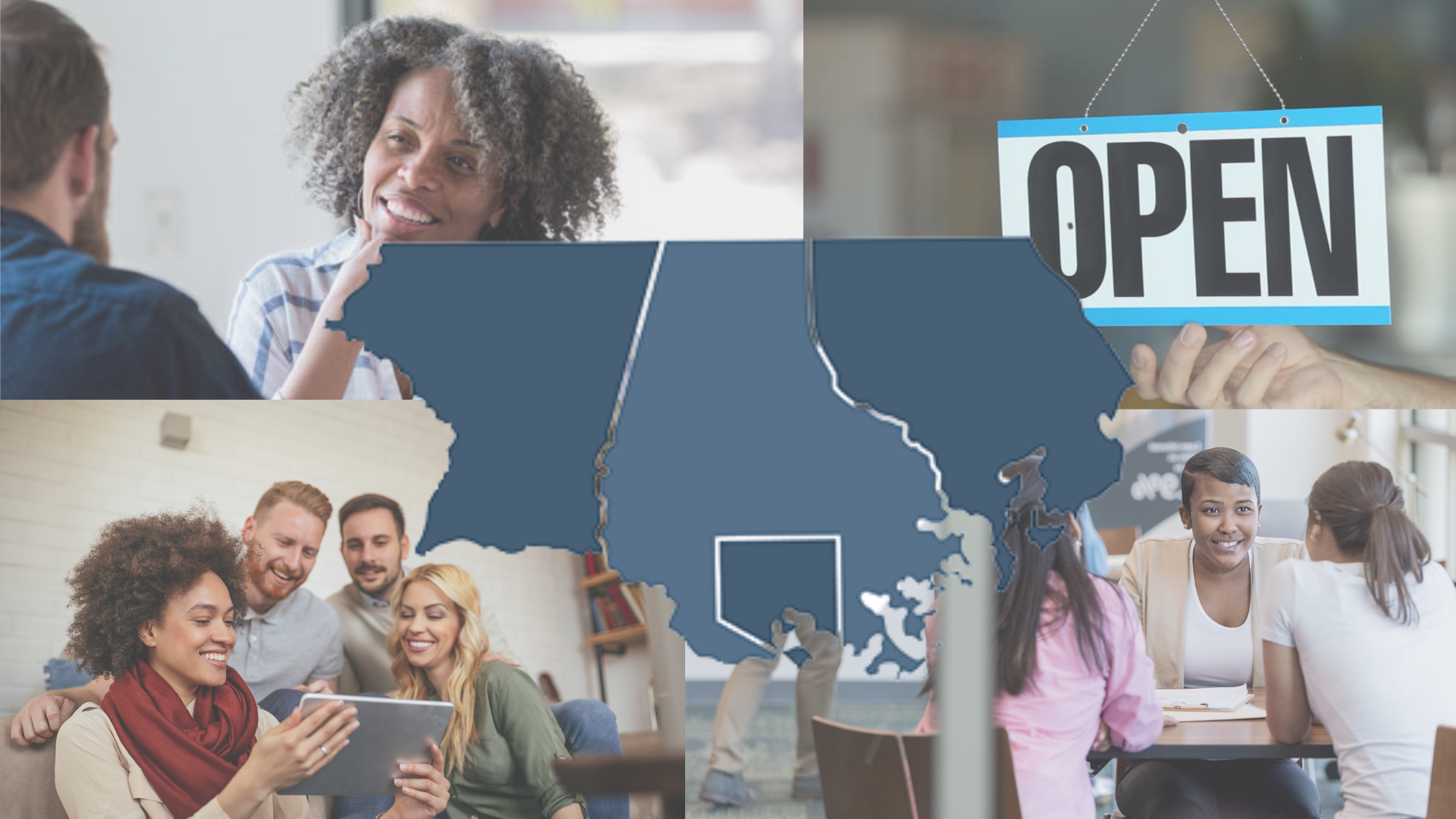 AFFCU Community Expansion header image. Open for business