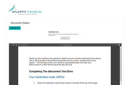 Screen shot of PDF accessibility verification