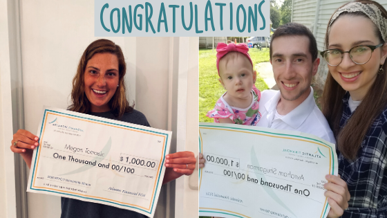 Article image of scholarship winners