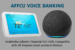 AFFCU Voice Banking image - Echo show and dot devices